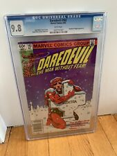 Daredevil #182 CGC 9.8 White Pages NEWSSTAND Edition NM/Mint