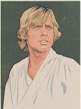 Star Wars Galaxy 5 Gold Foil Chase Card #8 Luke Skywalker