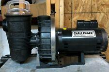 2Hp 230/115V Challenger High Head Pump