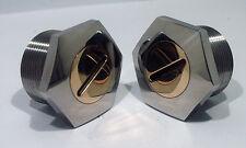 BSA A7 A10 M21 B31 B33 B40 C15 Gold Star RGS Fork tube nuts special 65-5331