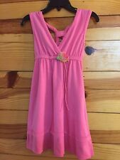 *CACHCACH* Girls Pink Dress with 3D Rose Size 4