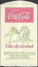 Coca Cola Dry Server with a Pilot Drinking a Coke *
