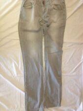 ZARA TRFDENIMRULES - colore grigio chiaro - taglia 38 - 98% cotone 2% spandex -