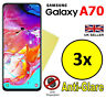 3x HQ MATTE ANTI GLARE SCREEN PROTECTOR COVER GUARD FOR SAMSUNG GALAXY A70