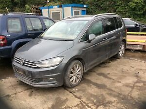 2015-2018 VW TOURAN MK2 (5T1) DRIVERS FRONT RIGHT DOOR WITH GLASS & MEC (LR7HL)