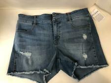 Guess Shorts Jeans Size 30 Medium Destroyed Wash Tanner Btin Front Booty Shorts