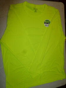 Genuine Dickies Men's Shirt 100% Polyester Long Sleeve, FREE SHIPPING, AS10055