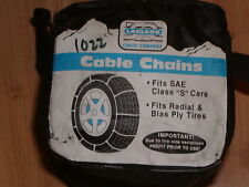 CABLE TIRE CHAINS LACLEDE #1022, 185/70-14, 185/60-14,185/75-14, 185/80-13
