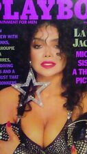 Playboy March 1989* VERY GOOD* LaToya Jackson Pamela Des Barres, Laurie Wood