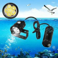Waterproof Scuba Diving Flashlight Snorkeling Led Lamp Torch Underwater Lighting