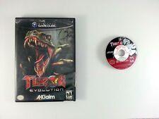 Turok Evolution game for Nintendo Gamecube -Game & Case