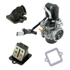 17,5mm Sport Vergaser Kit Membranblock Tuning Piaggio NRG 50 MC2 MC3 Power AC LC