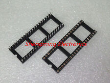 50pcs 40Pin DIP Round IC Sockets Adaptor Solder Type gold plated machined