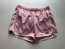 Adidas Women's Shorts Light Pink Gym Athletic Work Out Short Size Medium