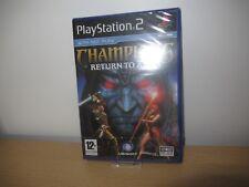 PS2 Champions Return To Arms , Pal Reino Unido, Nuevo y Sellado de Fábrica