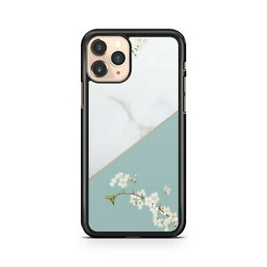 Elegant Delightful Flowers White Mixed Blue Coloured Floral Phone Case Cover