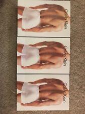Calvin Klein Boxers 3 Pack Medium Gris Blanc Noir £ 20!!!
