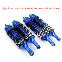 For 1/10 Traxxas Slash 4x4 4WD RC Crawler Alloy Front Rear Shock Absorber Parts