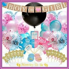 Gender Reveal Party Supplies (103pc) | Baby Shower Gender Reveal Decorations