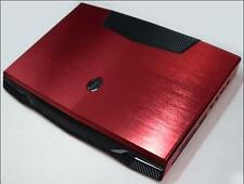 KH Special Laptop Color Metal drawing Leather Skin Fit Dell Alienware M18X R1 R2