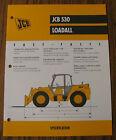 JCB 530 Loadall Spec Sheet Brochure Literature
