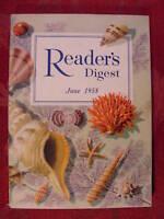 Readers Digest June 1958 Arch Oboler Dickey Chapelle Marcel Marceau