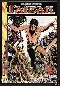 Tarzan Album Nr. 1 - 6 Hethke Br. Hogarth 1988 / 1989 (0-1/1)