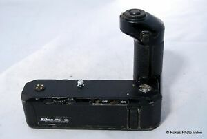 Nikon MD-12 winder motor drive heavy user Rated C