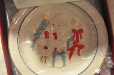 "Lenox Cookie Plate for Santa Claus American by Design ""Santa's Visit"" NIB"