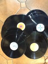 """Job lot of 10 X 12"""" vinyl LP records for up-cycling crafts artwork Free UK Post"""