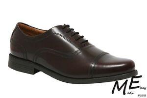 New Clarks Beeston Cap Burgundy Leather Men Shoes Size 11.5 - NIB