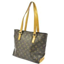 Authentic Louis Vuitton Monogram Cabas Piano Shoulder Bag Tote Purse VI 0073