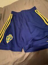 Adidas Sweden Fifa World Cup Match Shorts Sverige
