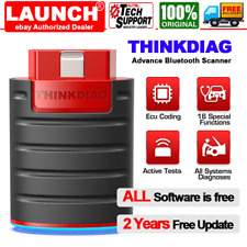 NEW LAUNCH Thinkdiag Bluetooth OBD2 Scanner FULL System ECU Coding IMMO Key TPMS
