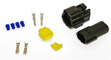 10 Kits - 2 Pin forma econoseal Amp Impermeable Cableado Eléctrico Multi Conectores