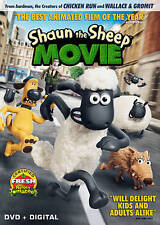 NEW Shaun the Sheep Movie DVD + UltraViolet digital copy