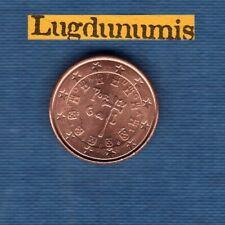 Portugal 2006 1 centime d'euro SUP SPL Pièce neuve de rouleau - Portugal