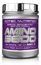 Scitec Nutrition Amino 5600 Essential Branched-chain amino acid best formula !