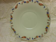 Set Of Two Vintage Alfred Meakin Cake Plates Harmony Shape 25.7cm Tea Rooms