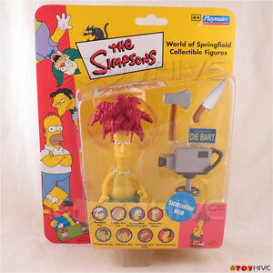 The Simpsons World of Springfield Sideshow Bob UK exclusive action figure Vivid