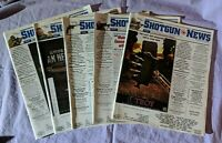 Shotgun News Magazine Back Issue Lot of 5 (Vol. 65 Issues 16 17 18 19 20 - 2011)