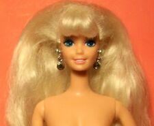 Vintage 1976 Light Blonde Barbie Doll Twist & Turn Nude Mattel