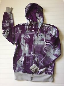 Oakley Zip Up Graphic Hoodie Sweatshirt Size Small Forged Goods 2009