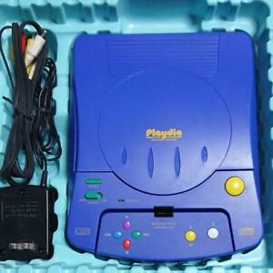 Playdia Bandai Console Japan Ver Working No box