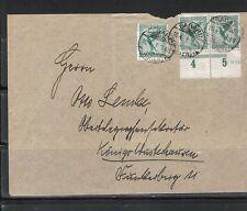 Nicht bestimmte Briefmarken aus dem deutschen Reich (1924-1932) mit Mehrfachfrankatur