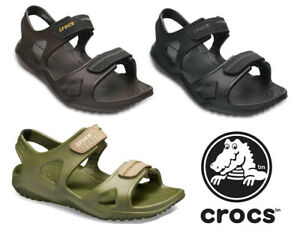 Crocs Swiftwater River Sandals Summer Beach Holiday Open Toe Adjustable Mens