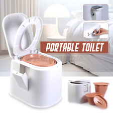 Tragbare Campingtoilette Mobil WC Chemietoilette Toiletteneimer Reise-WC Toilett
