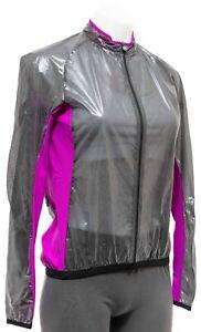 Assos UMA GT Clima EVO Jacket Women MEDIUM Violet Road Bike Cycling Gravel MTB