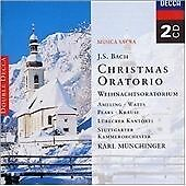 Bach, J.S.: Christmas Oratorio, Karl Münchinger, Stuttgarter Kam Audio CD