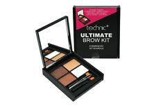 Technic Ultimate Brow Kit Eyebrow Make Up Set, Powders, Wax, Tweezers & Brush